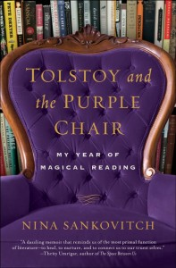 New York author Nina Sankovitch's book Tolstoy and the Purple Chair