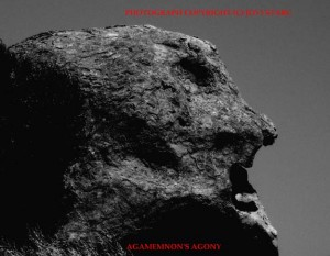 """One of Jovi's photos, titled """"Agamemnon's Agony"""""""