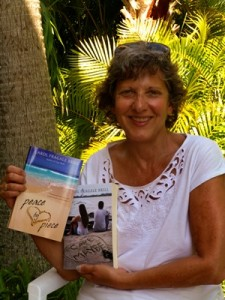 Carol  with books Mar14 004 300x400