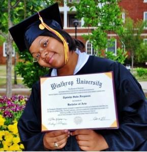 Tynisha Ferguson Graduate-Winthrop