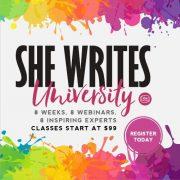 Online Writing Classes: She Writes University